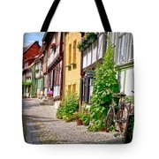 German old village Quedlinburg Tote Bag by Heiko Koehrer-Wagner