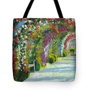 Germany Baden-baden Rosengarten Tote Bag by Yuriy  Shevchuk