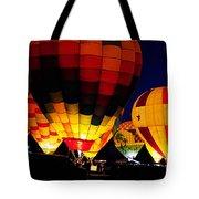 Glowing Tote Bag by Clayton Bruster