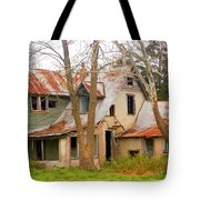 Haunted House Tote Bag by Marty Koch