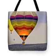Hot-air Balloning Tote Bag by Heiko Koehrer-Wagner