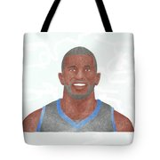 Jason Richardson Tote Bag by Toni Jaso