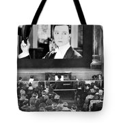 Movie Theater, 1920s Tote Bag by Granger