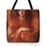 Pandora Tote Bag by Dante Charles Gabriel Rossetti