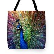 Peacock Tote Bag by Hannes Cmarits