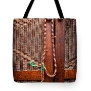 Prayer beads Tote Bag by Tom Gowanlock