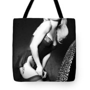Retro Pinup Tote Bag by Clayton Bruster