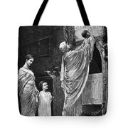 Rome: Christian Widow Tote Bag by Granger