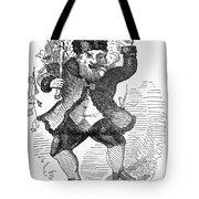 SANTA CLAUS, 1849 Tote Bag by Granger