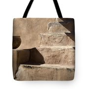 Shadows Of Tumacacori Tote Bag by Sandra Bronstein