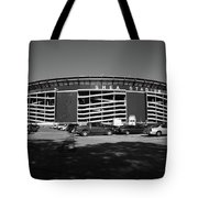 Shea Stadium - New York Mets Tote Bag by Frank Romeo