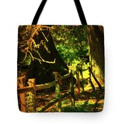 Silence Tote Bag by Susanne Van Hulst