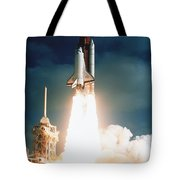 Space Shuttle Launch Tote Bag by NASA / Science Source