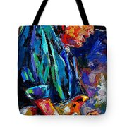 Stevie Ray Vaughan Tote Bag by Debra Hurd