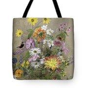 Summer Flowers Tote Bag by John Gubbins