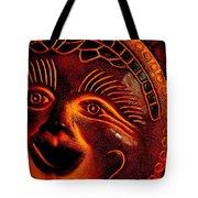 Sun Burn Tote Bag by Ed Smith