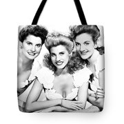 The Andrews Sisters Tote Bag by Granger