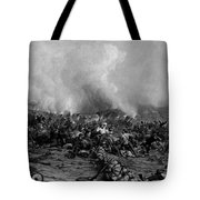 The Battle Of Gettysburg Tote Bag by War Is Hell Store
