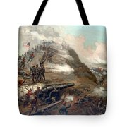 The Capture Of Fort Fisher Tote Bag by War Is Hell Store
