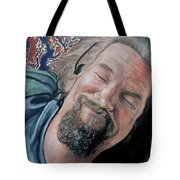 The Dude Tote Bag by Tom Roderick