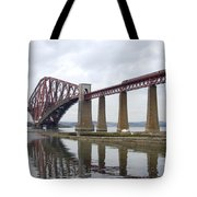The Forth - Scotland Tote Bag by Mike McGlothlen