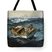 The Gulf Stream Tote Bag by Winslow Homer