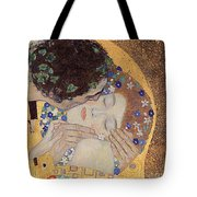 The Kiss Tote Bag by Gustav Klimt