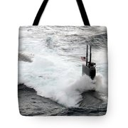 The Los Angeles-class Fast Attack Tote Bag by Stocktrek Images