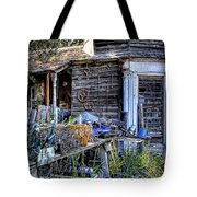 The Old Shed Tote Bag by David Patterson