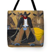 The Posse Tote Bag by Lance Headlee