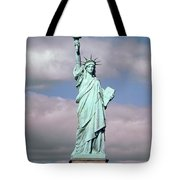 The Statue Of Liberty Tote Bag by American School