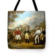 The Surrender Of General Burgoyne Tote Bag by War Is Hell Store