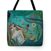 Under The Sea Tote Bag by Pristine Cartera Turkus