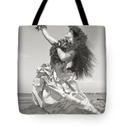 Wahine Hula Tote Bag by Himani - Printscapes
