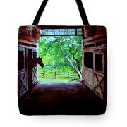 Water's Edge Farm Tote Bag by Jack Skinner