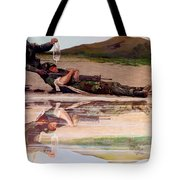 Wings Of Hope Tote Bag by Todd Krasovetz