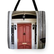 Wooden Door Savannah Tote Bag by Thomas Marchessault