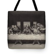 The Last Supper Tote Bag by Leonardo da Vinci