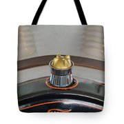 1924 Ford Model T Roadster Hood Ornament Tote Bag by Jill Reger
