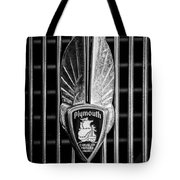 1934 Plymouth Emblem 2 Tote Bag by Jill Reger