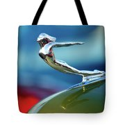 1936 Cadillac Hood Ornament 2 Tote Bag by Jill Reger