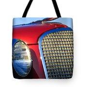 1937 Cadillac V8 Hood Ornament 2 Tote Bag by Jill Reger