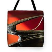 1939 Chevrolet Hood Ornament 2 Tote Bag by Jill Reger