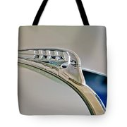1940 Plymouth Hood Ornament 3 Tote Bag by Jill Reger