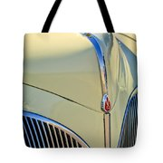 1941 Lincoln Continental Cabriolet V12 Grille Tote Bag by Jill Reger