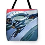 1950 Dodge Coronet Hood Ornament Tote Bag by Jill Reger