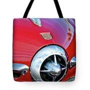 1950 Studebaker Champion Hood Ornament Tote Bag by Jill Reger