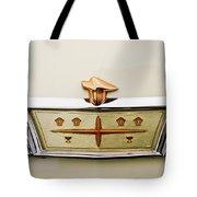 1957 Desoto Adventurer Emblem Tote Bag by Jill Reger