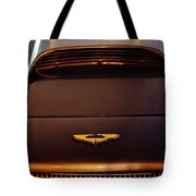 1961 Aston Martin Db4 Coupe Emblem Tote Bag by Jill Reger