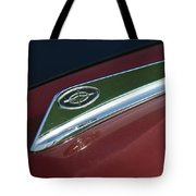 1963 Ford Galaxie Hood Ornament Tote Bag by Jill Reger